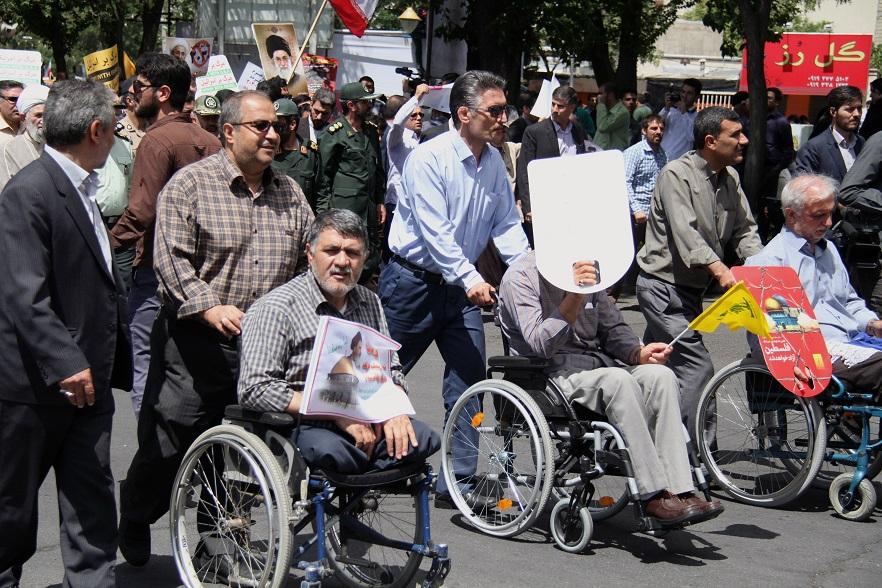 راهپیمایی روز  قدس 96
