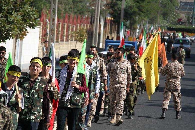 رزمایش بسیج در زنجان