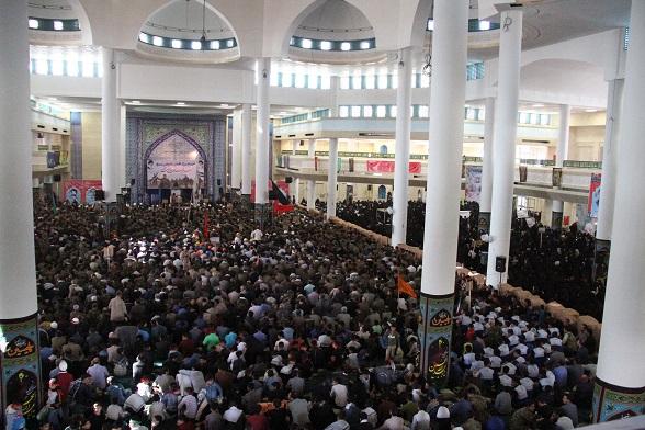 تجمع عاشورایی بسیجیان در زنجان